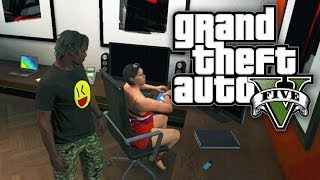 GTA 5 THUG LIFE  - STRANGER IN MY APARTMENT! (GTA V Online)