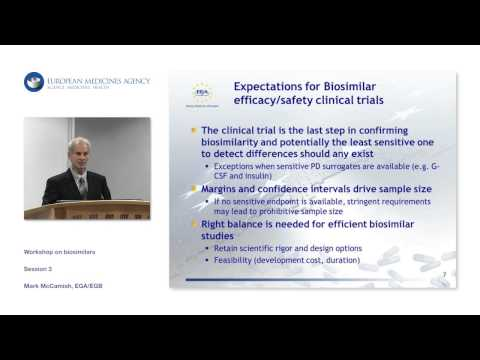 Presentation by Biosimilars industry - session 3