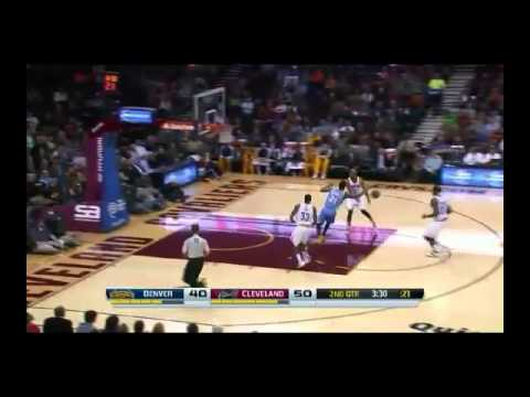 NBA CIRCLE - Denver Nuggets Vs Cleveland Cavaliers Highlights 4 Dec. 2013 www.nbacircle.com