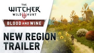 "The Witcher 3: Wild Hunt - Blood and Wine ""New Region"" Trailer"