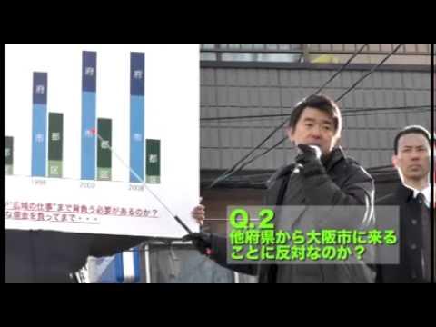Q2.歯がないんやけども。他府県から大阪市に来ることに反対なのか?