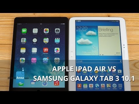 Apple iPad Air vs Samsung Galaxy Tab 3 10.1
