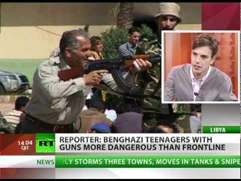 'Teens with AK-47s more dangerous than Libya frontline'