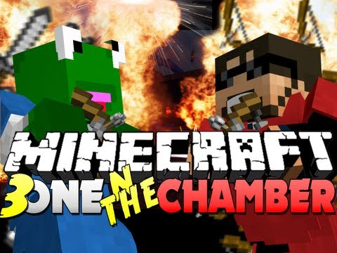 Minecraft One in the Chamber - TRIPLE WIN! (ft. KERMIT and Sky?)