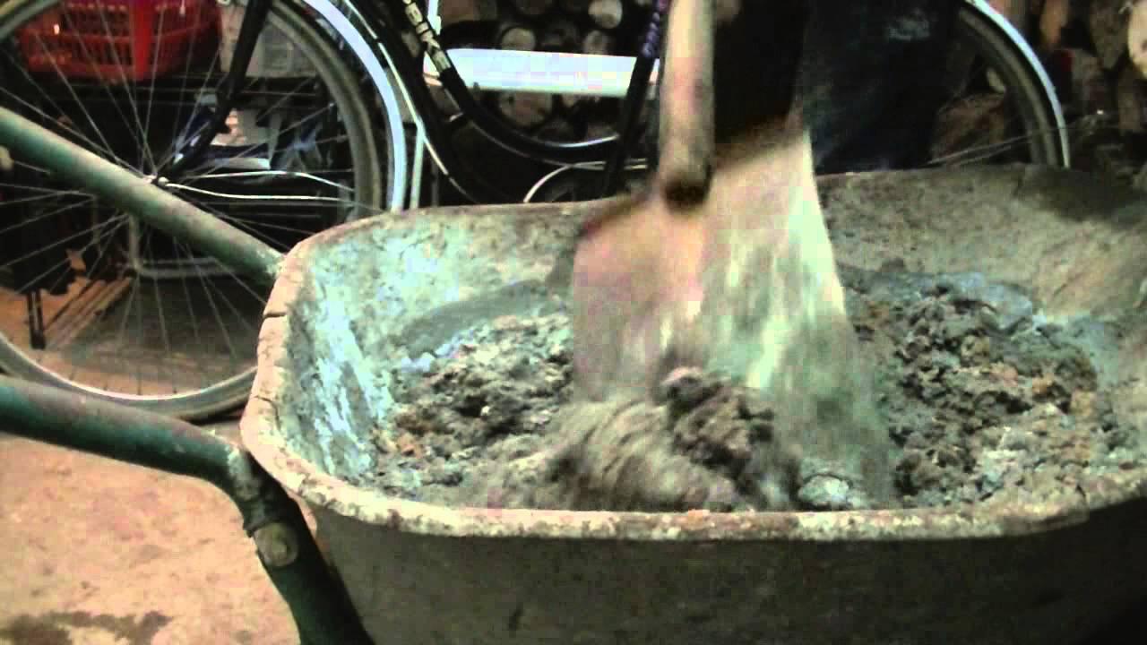 Mortier comment faire du mortier mortier colle youtube - Comment fabriquer du ciment ...