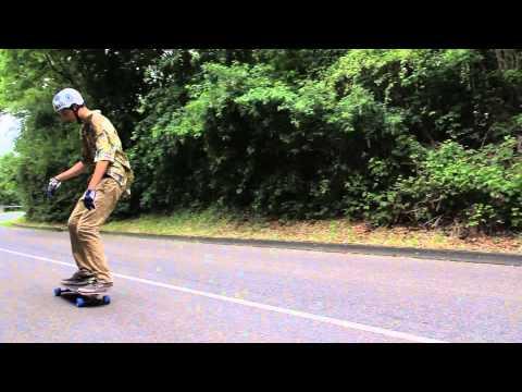 Fibretec Skateboards: Leon gettin Sideways