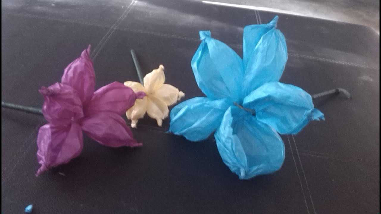 Diy Tutorial Como Hacer Flores De Papel Crepe O China