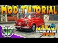 Car Mechanic Simulator 2018 How to Install Mods Tutorial PC