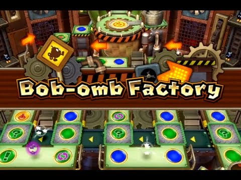 Mario Party 9: Bob-omb Factory, The next board how will I go this time when some new features are added?