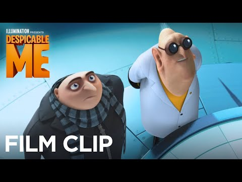 "Despicable Me – Clip: ""Dr. Nefario shows Gru two new inventions"""