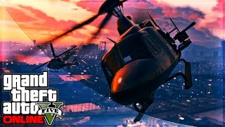 GTA 5 Online Heist DLC New Vehicles HUNTER, HYDRA, APC