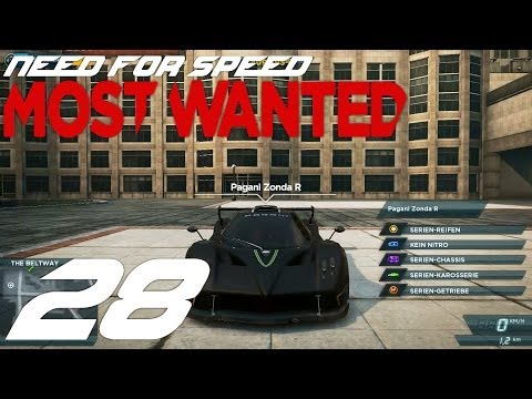Let's Play NFS Most Wanted (2012) #28 - Zonda R?! [Deutsch/FullHD]