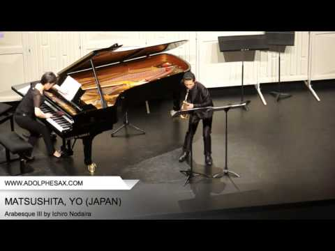 Dinant 2014 – MATSUSHITA, Yo (Arabesque III by Ichiro Nodaira)