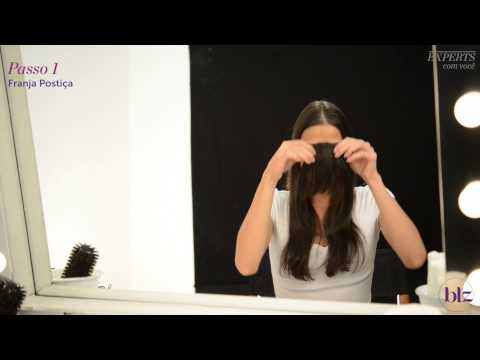 Franja falsa: mude o visual sem cortar o cabelo | Beleza na Web