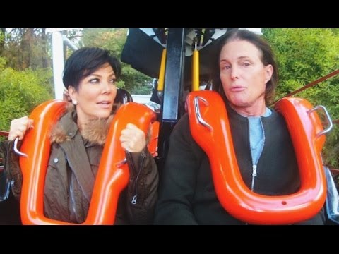 Kris & Bruce Argue Over Kendall Jenner On A Roller Coaster