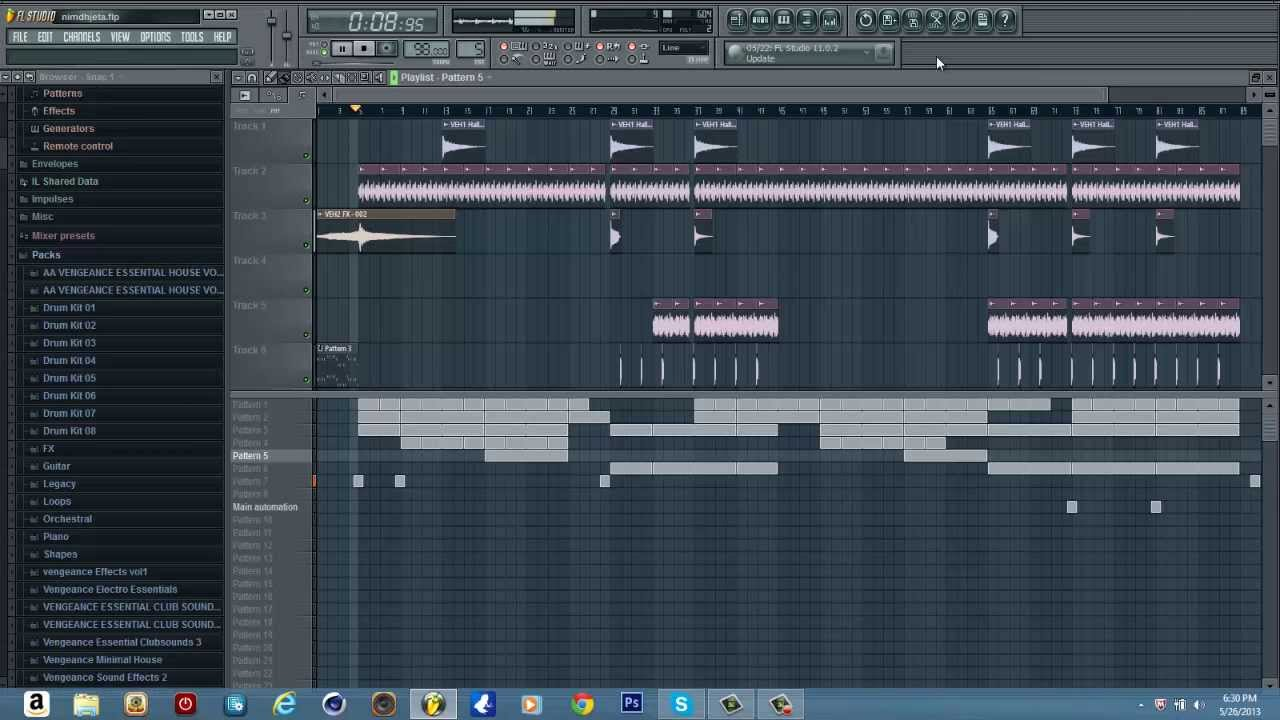 Files which can be opened by FL Studio