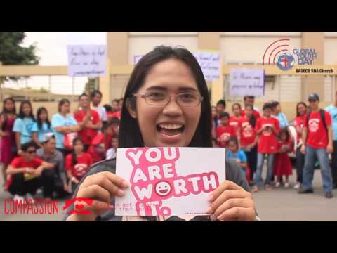 Global Youth Day - Acts of Compassion in Baseco SDA Church, Philippines 2014