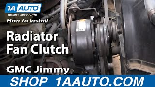 How To Install Replace Radiator Fan Clutch Chevy Ford