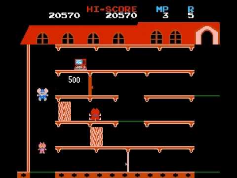Mappy - dieing, those darn cats - User video