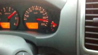 Nissan New Frontier à 220km/h.