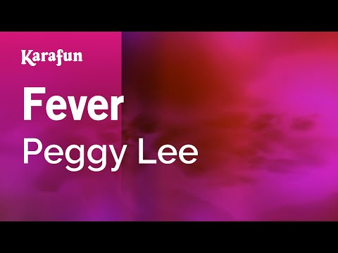 Karaoke Fever - Peggy Lee *