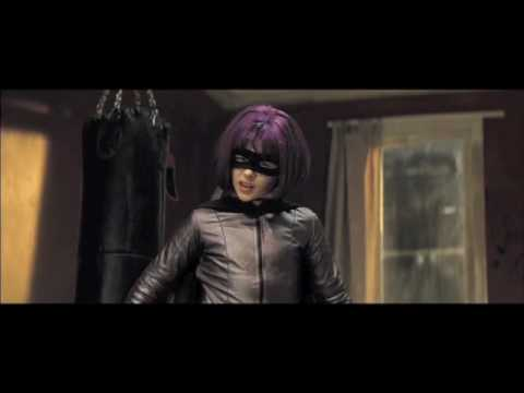Hit-Girl Red Band, Hit-Girl Red Band http://www.kickass-movie.co.uk/ A twisted, funny, high octane adventure, Matthew Vaughn brings KICK ASS to the big screen. KICK ASS tells t...