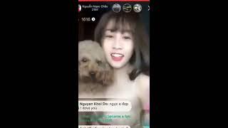 Bigo show   Thiên Thần Bigo chiều Fan part 2 Nguyễn Ngọc Châu   YouTube