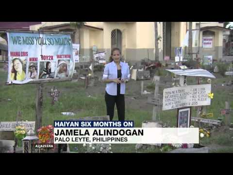 Typhoon Haiyan six months on