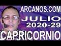 Video Horóscopo Semanal CAPRICORNIO  del 12 al 18 Julio 2020 (Semana 2020-29) (Lectura del Tarot)