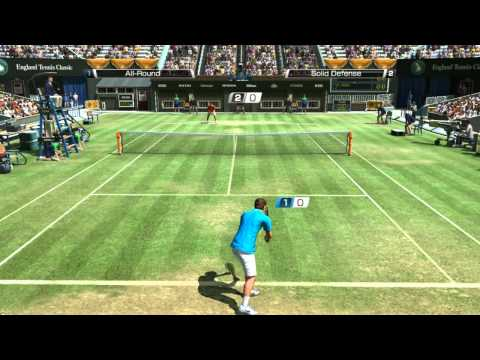 VT4 Roger Federer - Rafael Nadal Wimbledon Federer Ace [HD]
