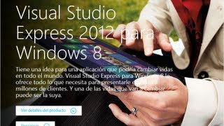 Instalar Visual Studio Express 2012 Para Windows 8
