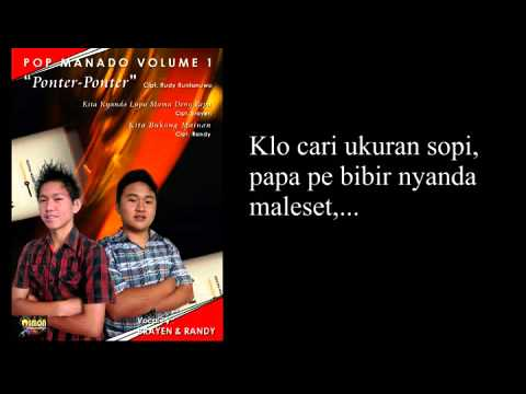 Lagu Pop Manado 2013 - Ponter Ponter