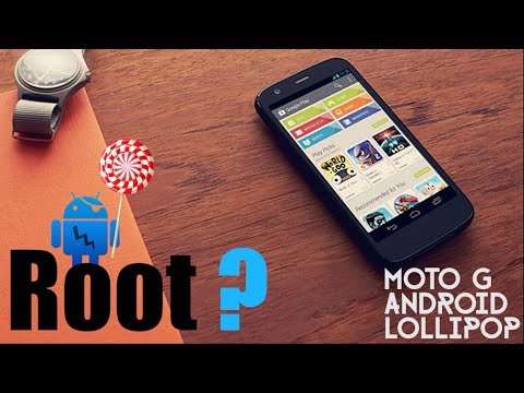 Root Moto G 5.0.2 Lollipop (Easy Way CF Autoroot)