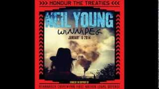 Neil Young - solo -AUDIO- Winnipeg, 2014, Jan.16,Full set,19 songs,99 mins.