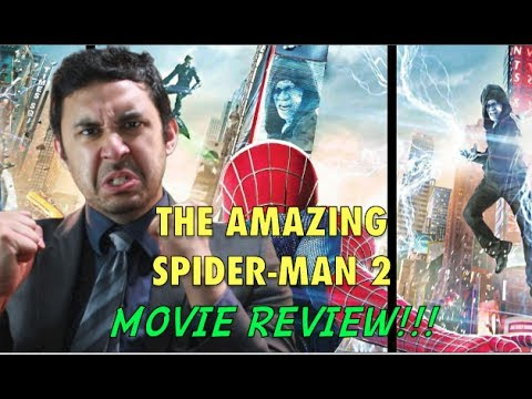 THE AMAZING SPIDER-MAN 2 MOVIE REVIEW!!!