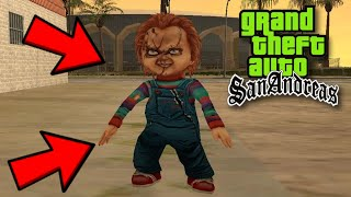 Mod Do Chucky O Boneco Assassino GTA San Andreas