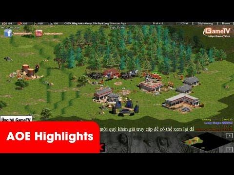 AOE Highlights - Chết cười với TTT, quay máy GameTV nhưng bình luận cổ vũ Thái Bình. 19
