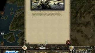 Medieval 2: Total War Kingdoms Crusades Campaign Footage