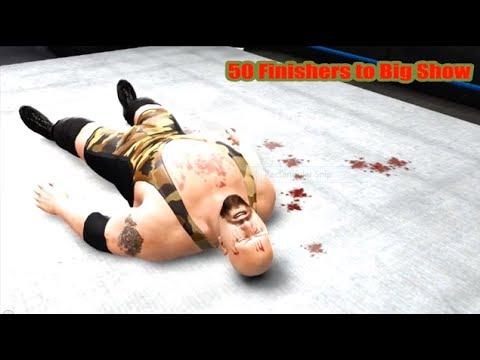 WWE 13   50 Finishers to Big Show