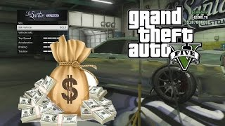 (PATCHED) GTA V: SELLING CARS FROM OFFLINE TO ONLINE (LOTS