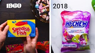 60 Years of Popular Candy! | Iconic Candy Throughout the Years and Cookie Recipes by So Yummy