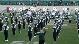 Michigan State Spartans Marching Band - Thriller