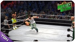 WWE: Money In The Bank 2014 The Usos Vs Wyatt Family (Tag