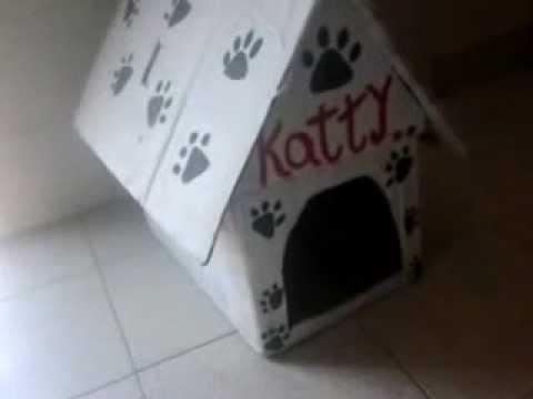 Como hacer una casa para perros f cil y gratis youtube for Como disenar una casa gratis