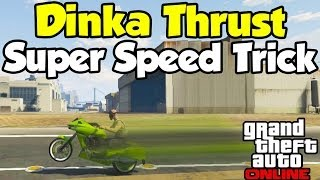 "GTA 5 Online ""Dinka Thrust"" Fastest Vehicle Online"