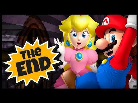 New Super Mario Bros. DS - FINAL CASTLE + 100% GAME COMPLETE !!!, The Last castle is way too easy,we defeat Bowser & Bowser Jr in one hit and save Princess Peach :D We also complete game 100% getting all 3 stars on the save...