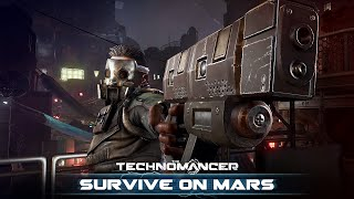 The Technomancer - Survive on Mars Játékmenet
