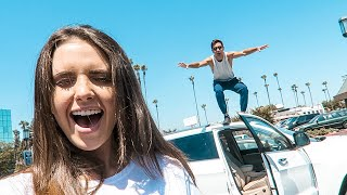 FLOOR IS LAVA CHALLENGE | Husband and Wife Edition