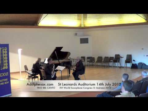 WSCXVI TRIO BEL CANTO   Reflections and currents by Peter Lieuwen
