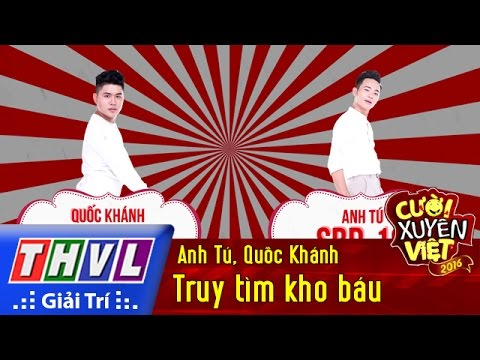 THVL | Cười xuyên Việt 2016 - Tập 7: Truy tìm kho báu - Anh Tú, Quốc Khánh